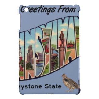 Greetings From Pennsylvania iPad Mini Cover