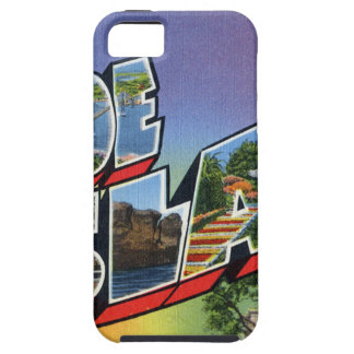 Greetings From Rhode Island Tough iPhone 5 Case