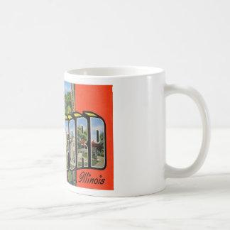 Greetings from Rockford Illinois Mugs