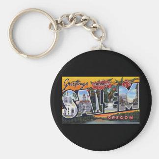 Greetings from Salem Oregon Key Ring