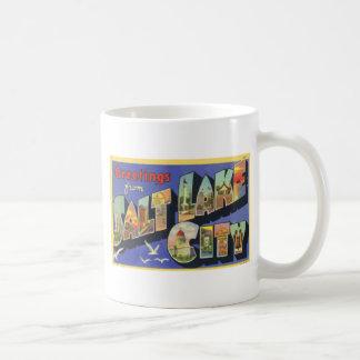 Greetings From Salt Lake City, Vintage Mugs