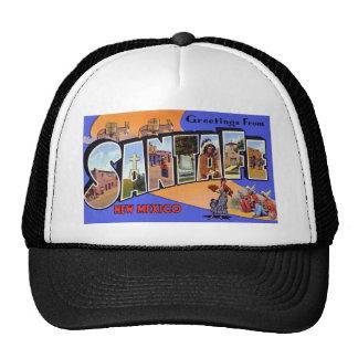 Greetings from Santa Fe New Mexico Trucker Hats