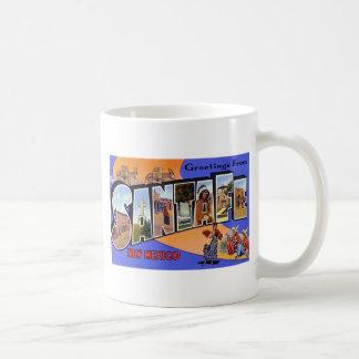Greetings from Santa Fe New Mexico Coffee Mugs