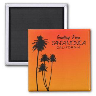 Greetings From Santa Monica Magnet