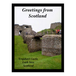 Greetings from Scotland Postcard