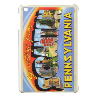 Greetings From Scranton, PA Letter Postcard Case For The iPad Mini