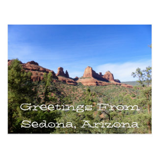 Greetings From Sedona, Arizona Postcard