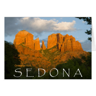 Greetings from Sedona Card 4506