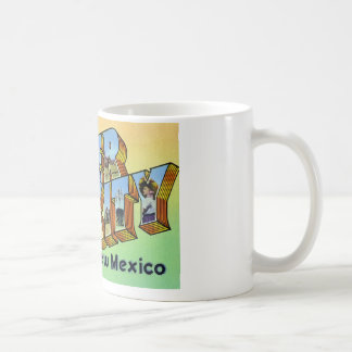 Greetings from Silver City New Mexico Coffee Mug