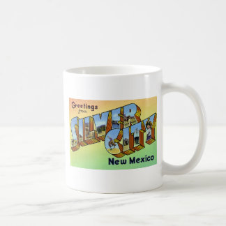 Greetings from Silver City New Mexico Mugs