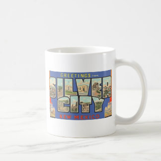 Greetings From Silver City New Mexico , Vintage Coffee Mug