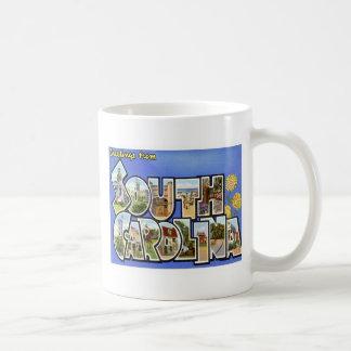Greetings From South Carolina SC Coffee Mug