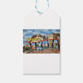 Greetings From South Dakota Gift Tags