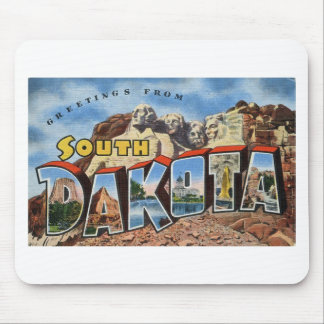 Greetings From South Dakota Mouse Pad
