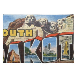 Greetings From South Dakota Placemat