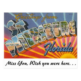 Greetings from St. Petersburg, Florida Postcard