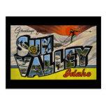 Greetings from Sun Valley Idaho Postcard