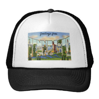 Greetings From Tennessee Mesh Hat