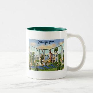 Greetings From Tennessee Mug