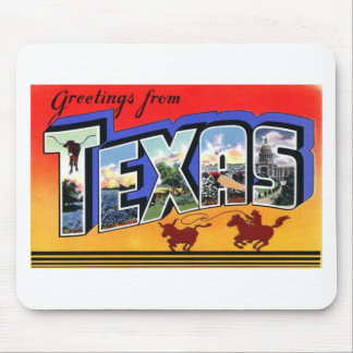 Greetings From Texas Mouse Pad