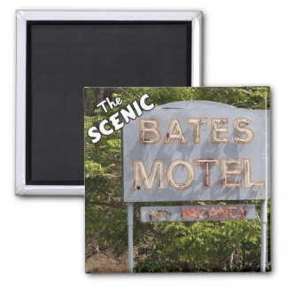 Greetings From The Scenic Bates Motel Magnet