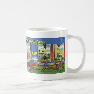 Greetings from the University of New Mexico Mug
