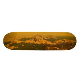 Greetings from Titan - Retro Skate Board