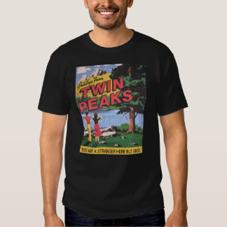 Greetings From Twin Peaks Washington Graphic T-shirts
