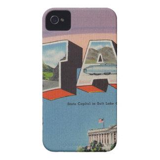 Greetings From Utah iPhone 4 Cover