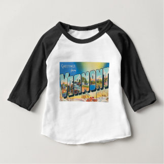 Greetings From Vermont Baby T-Shirt