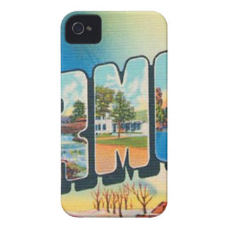 Greetings From Vermont iPhone 4 Case-Mate Cases
