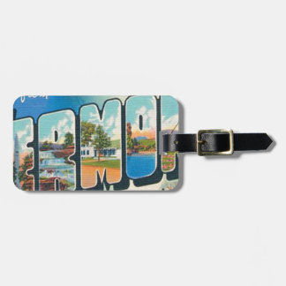 Greetings From Vermont Luggage Tag