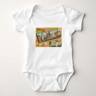 Greetings From Virginia Baby Bodysuit