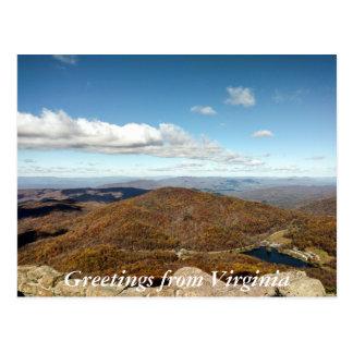 Greetings From Virginia Postcard 4