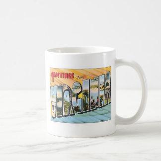 Greetings From Virginia VA USA Coffee Mugs