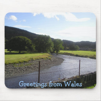 Greetings from Wales Mouse Pad