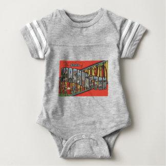 Greetings From Washington Baby Bodysuit