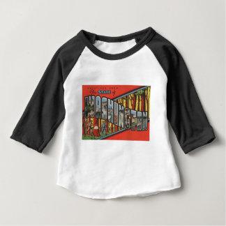 Greetings From Washington Baby T-Shirt