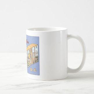 Greetings From Washington, D.C. USA Coffee Mugs