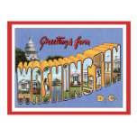 Greetings From Washington, D.C. USA Post Cards