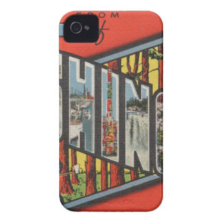 Greetings From Washington iPhone 4 Case
