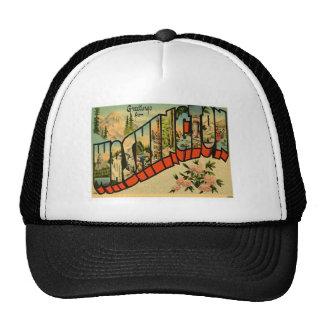 Greetings From Washington WA Mesh Hats