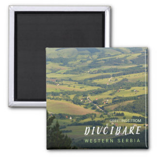 Greetings from Western Serbia - Divčibare 1 Magnet