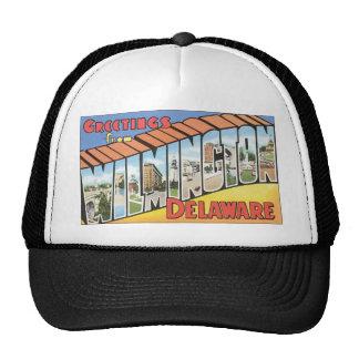Greetings From Wilmington Delaware, Vintage Trucker Hat