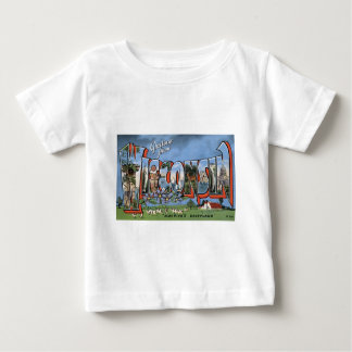 Greetings From Wisconsin Baby T-Shirt