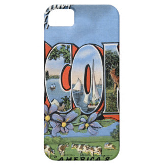 Greetings From Wisconsin iPhone 5 Cases