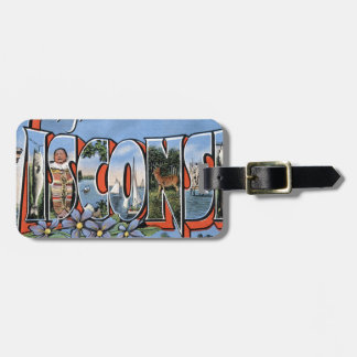 Greetings From Wisconsin Luggage Tag