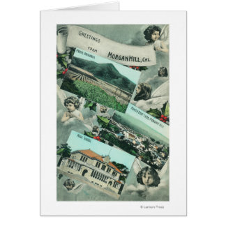 Greetings From with Scenic Views Card
