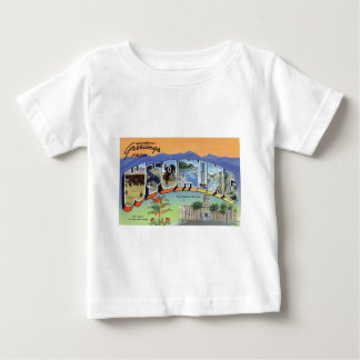 Greetings From Wyoming Baby T-Shirt