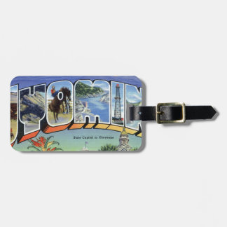 Greetings From Wyoming Luggage Tag